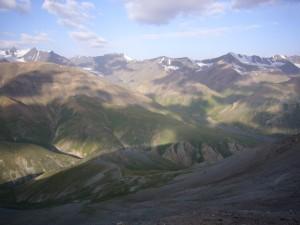 Montagnes Kirghizes