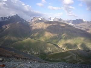 Paysage Arpa Kirghizstan