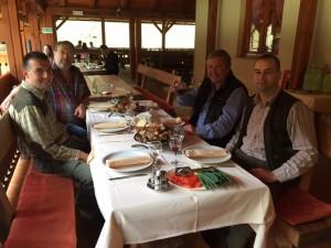 Repas chasse en Croatie