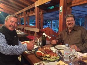 Salle à manger Karlovac chasse en Croatie