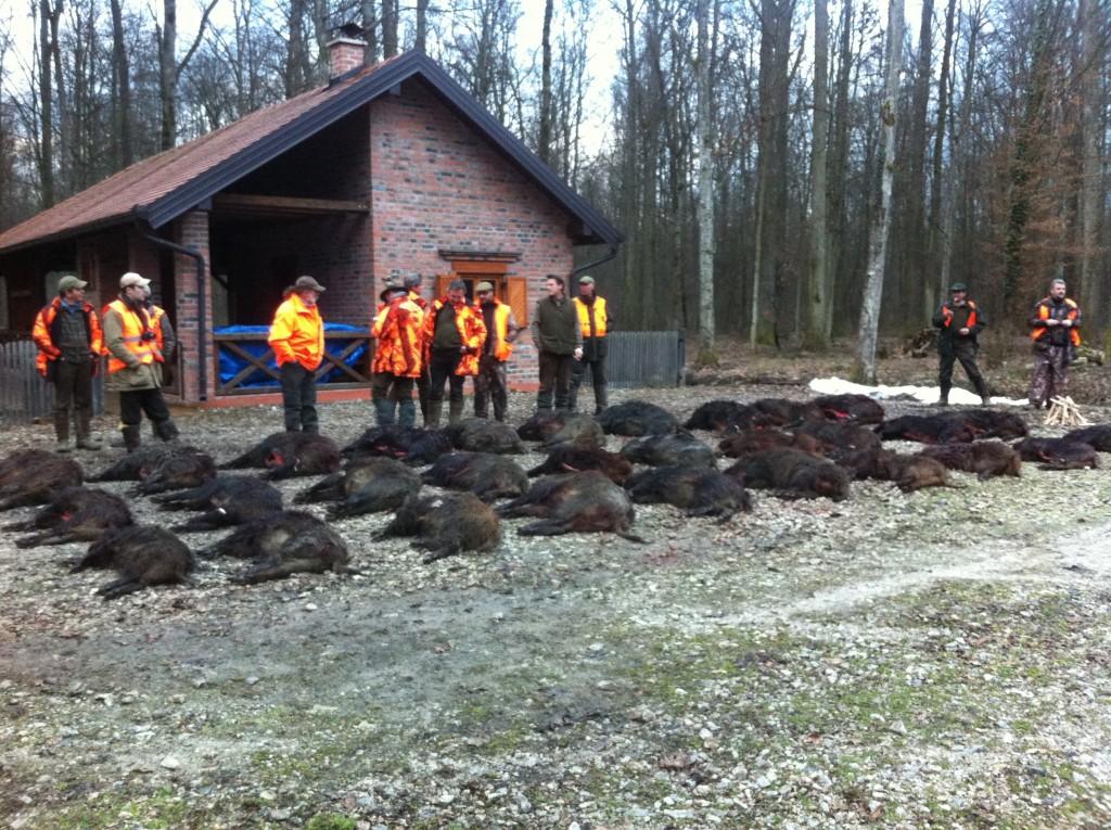 La chasse et la pêche à tomsk