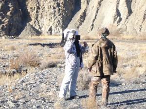 Tournage du film Seasons Kirghizstan