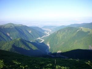 Vallée de Sheki Azerbaidjan
