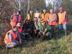 chasseurs en battue en Croatie