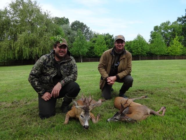 2 brocards séjour de chasse en Croatie