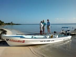 bateau peche mouche mexique