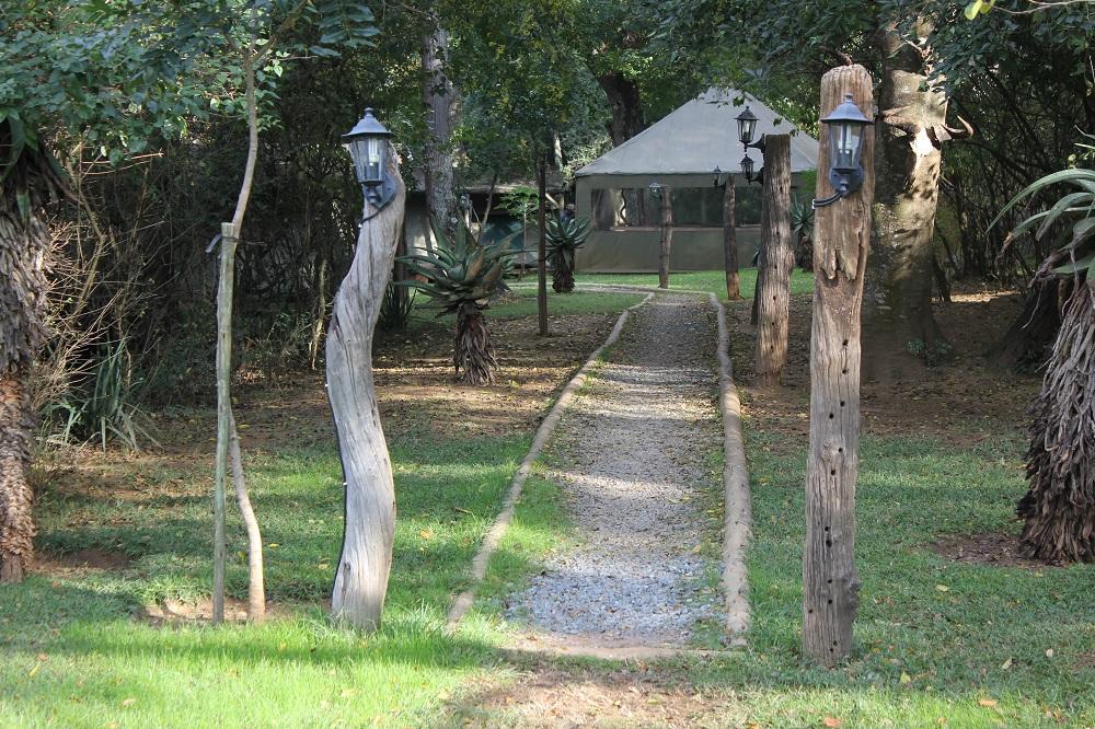 Camp tente umkomaas safari chasse afrique du sud
