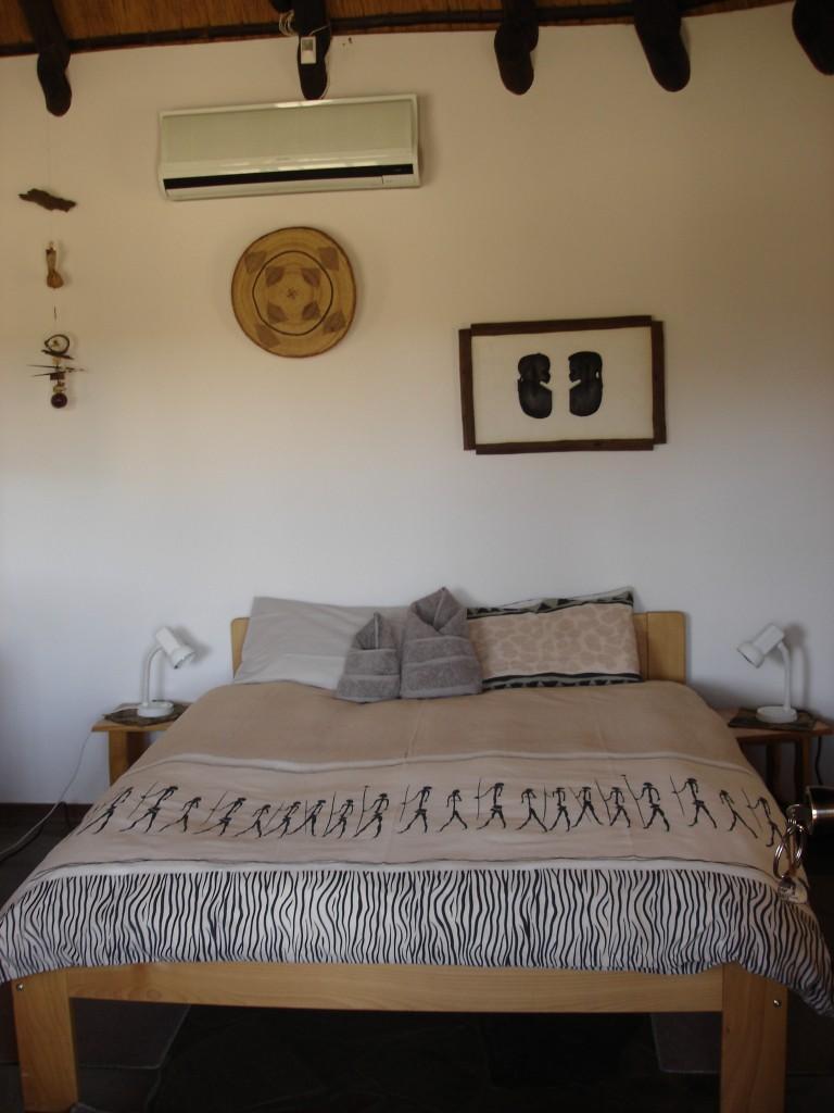 Chambre safari chasse namibie