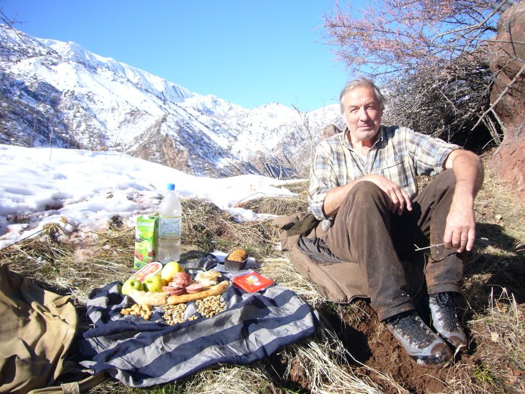 Pique nique Tadjikistan