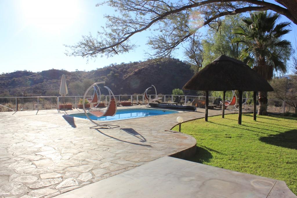 piscine okatore safari chasse namibie