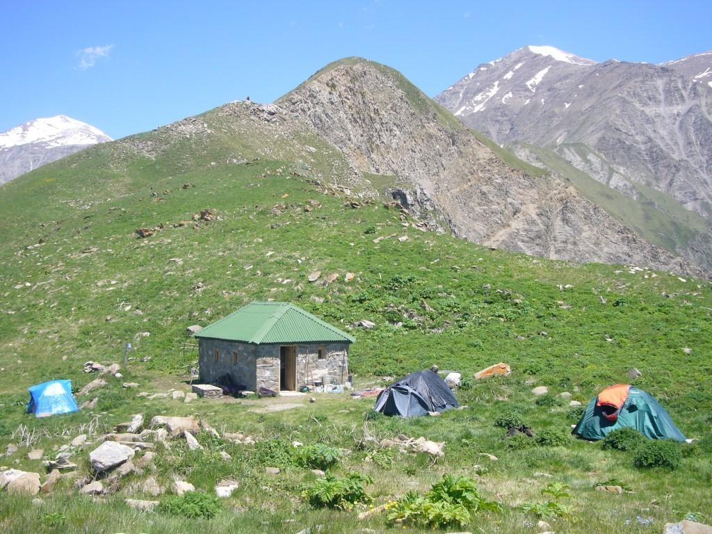 Campement Azerbaidjan 1800 m
